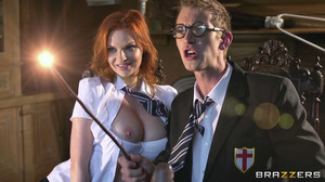 Tarra White - Hairy Punter and His Enormous Boner, HD, 720p