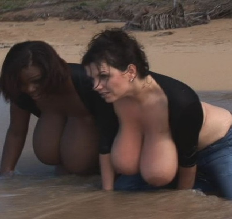 Milena Velba, Miosotis Claribel – Beach Giant Titties