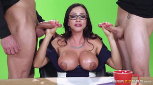 Ariella Ferrera - Big News On The Boob Tube