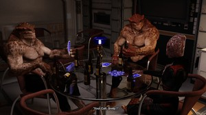 Darksoul3d Poker game turns into a gangbang with alien monsters for hot babe Comic