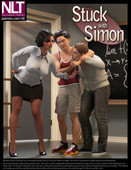 3d comic from NLT Media - Stuck With Simon - 50 pages