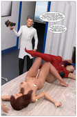 Updated 3d comic by Lilac Wren - Hero Transformed Issue 1-5