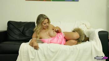 Madison Missina - Masturbates On The Couch, HD,720p