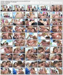Andi Rye, Eden Sin, Zoe Parker - Eden, Andi & Zoe Put On A Slobber Clinic - Swallowed