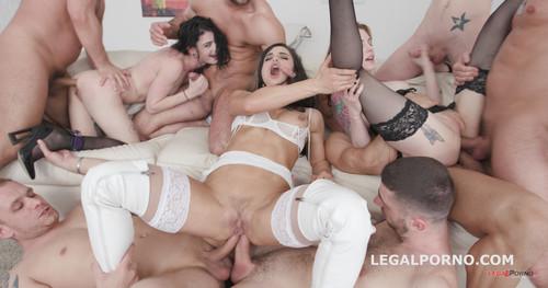 LegalPorno.com - Spark of insanity part#2 Ninel Mojado, Anna De Ville & Lydia Black Balls Deep Anal / DAP / Gapes GIO632