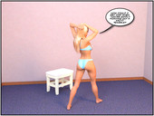 Age regression comic from TGTrinity - An Innocent Audition