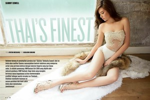 Sammy Cowell - FHM Indonesia Hot Model