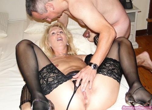 Deep mature anal