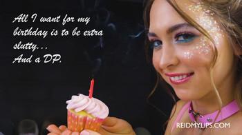 Riley reid birthday wish double anal