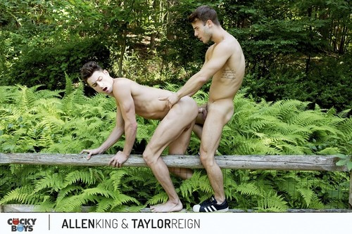 CockyBoys – Outdoor Romance With Allen King & Taylor Reign