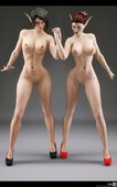 SiliconAya - Hot 3d babes in updated artwork collection