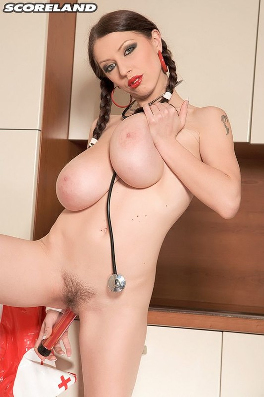 ScoreLand.com - Merilyn Sakova - BustyMerilyn - Nurse Big Boobs
